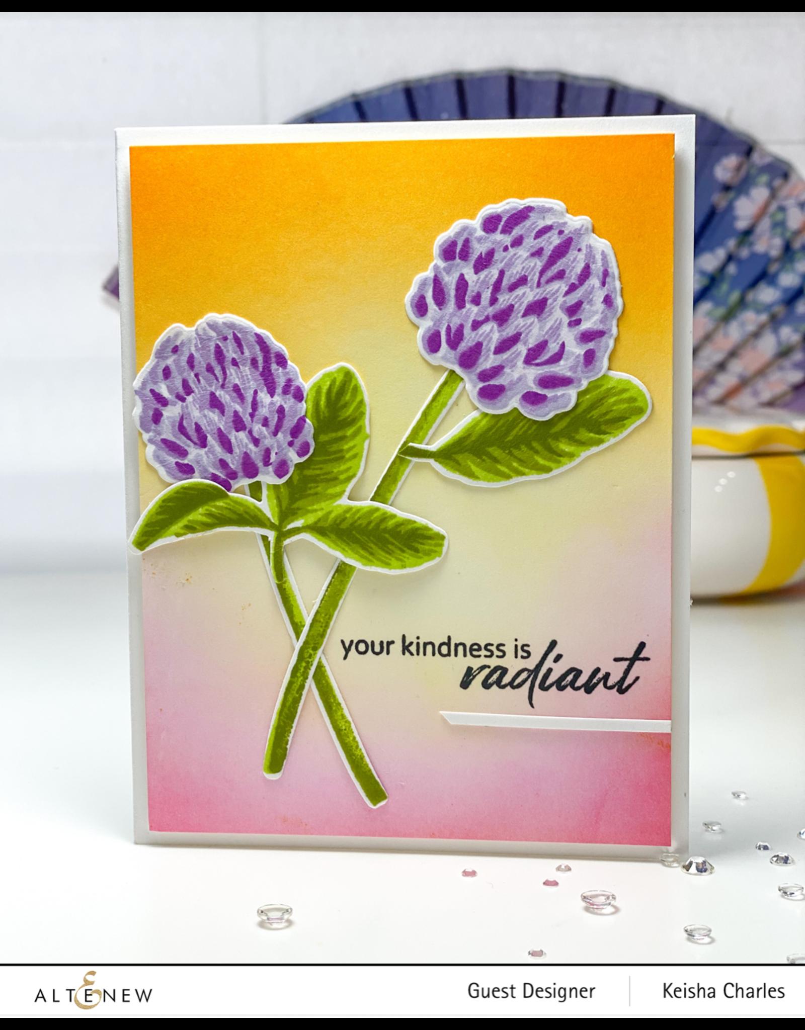 ALTENEW Build-A-Flower: Clover Layering Stamp & Die Set
