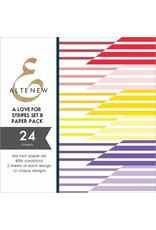 ALTENEW A Love for Stripes Set B 6x6 Paper Pack