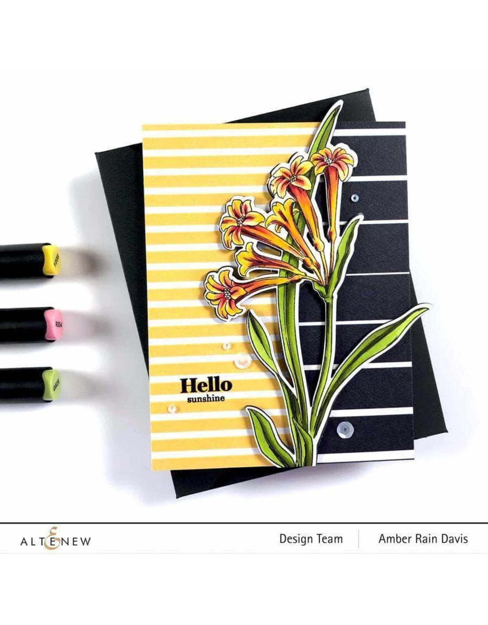 ALTENEW A Love for Stripes Set C 6x6 Paper Pack