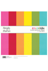 Simple Stories Brights Textured Cardstock Kit