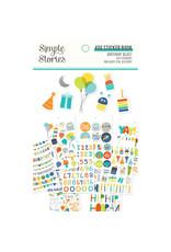 Simple Stories Birthday Blast 4x6 Sticker Book