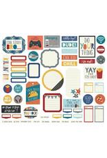 Simple Stories Bro & Co Journal Bits & Pieces