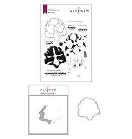 ALTENEW Amaryllis Stamp & Die & Mask Stencil Bundle