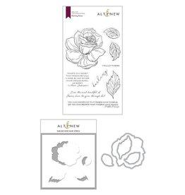 ALTENEW Darling Rose Stamp & Die & Mask Stencil Bundle