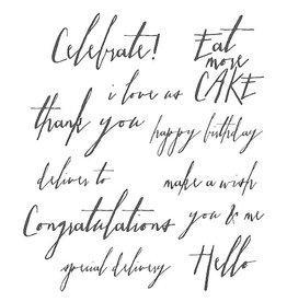 Tim Holtz Tim Holtz Handwritten Sentiments