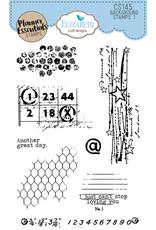 Elizabeth Craft Designs Background Stamps 1