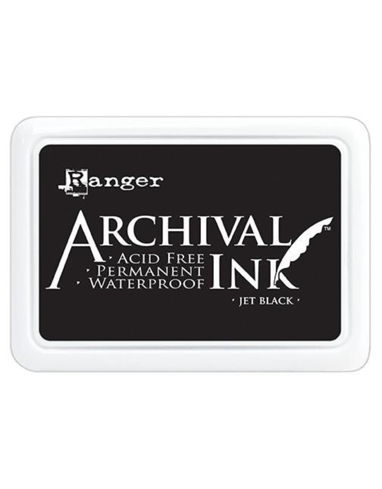 Ranger Archival Ink Pad Jumbo - Jet Black