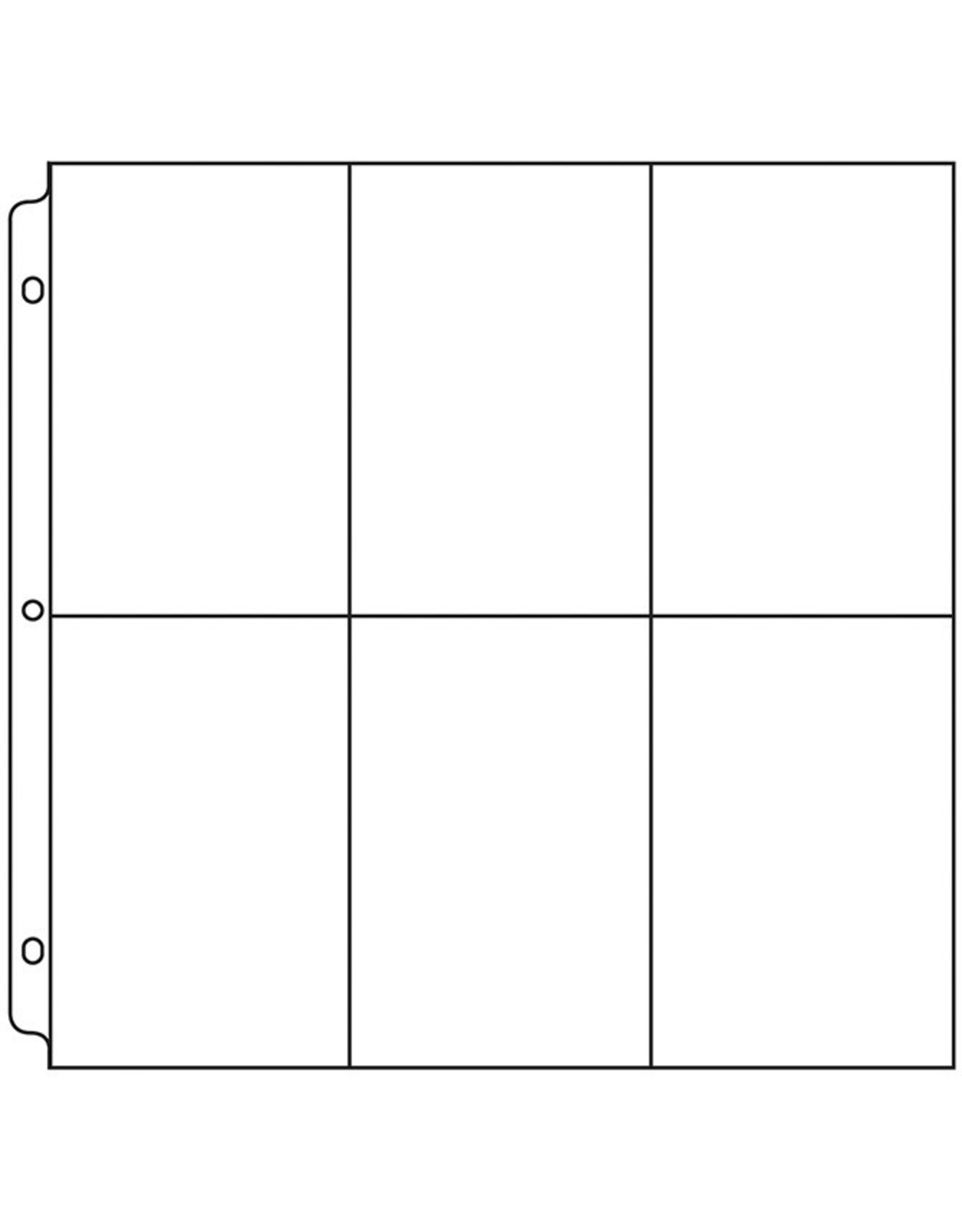WE R MEMORY KEEPERS 12X12 Page Protectors, 6-6X4 Pockets (10 Pack)