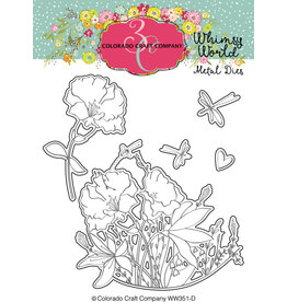 Colorado Craft Company Die, Whimsy World - My Whole Heart