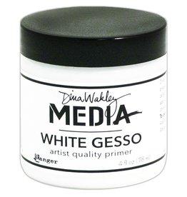 Dina Wakley Media Media Gesso, White 4oz