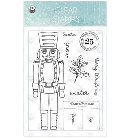 P13 Clear Stamp, The Four Seasons - Winter