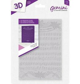 Crafter's Companion Gemini 3D Emb. Folder - Christmas Carol - *DISC*