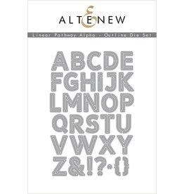 ALTENEW Linear Pathway Alpha - Outline Die Set