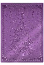Crafter's Companion 3D Embossing Folder, Evergreen Tree