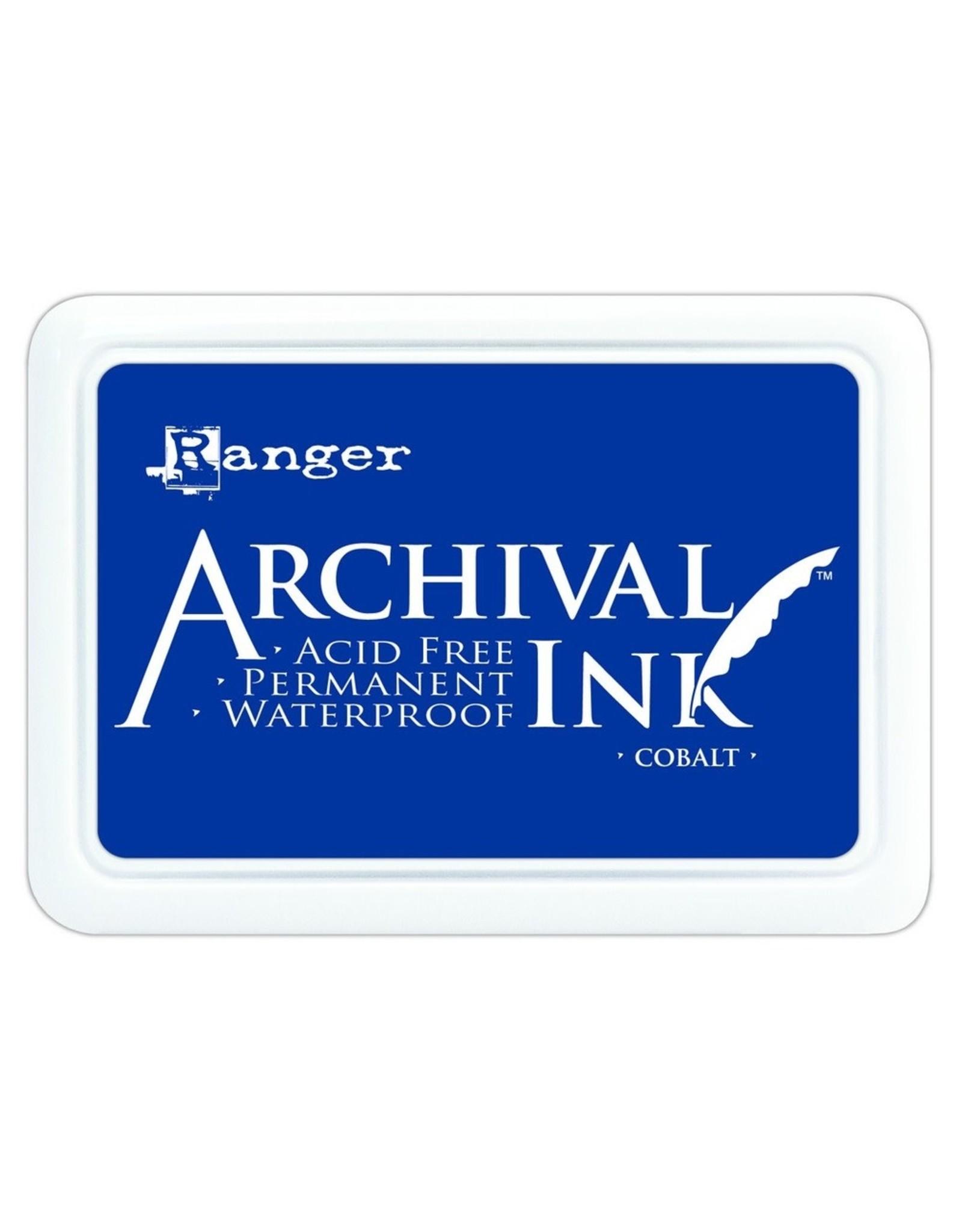 Archival Ink Pad Cobalt