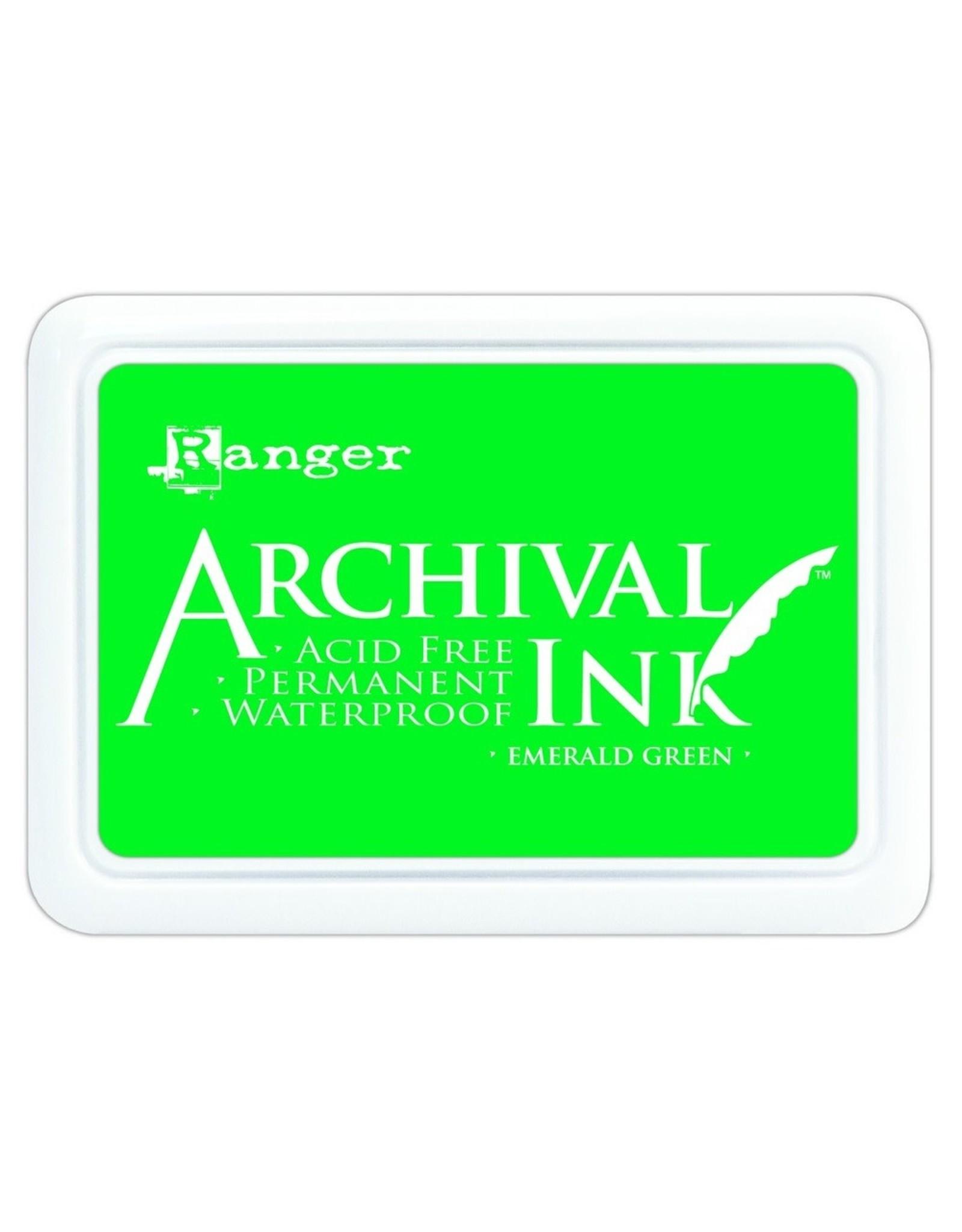 Ranger Archival Ink Pad Emerald Green