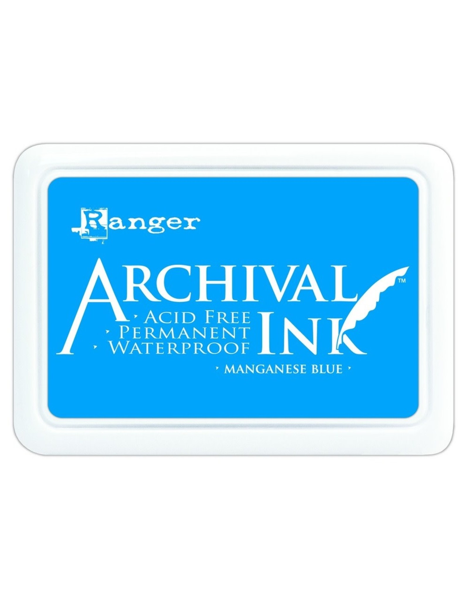 Archival Ink Pad Manganese Blue