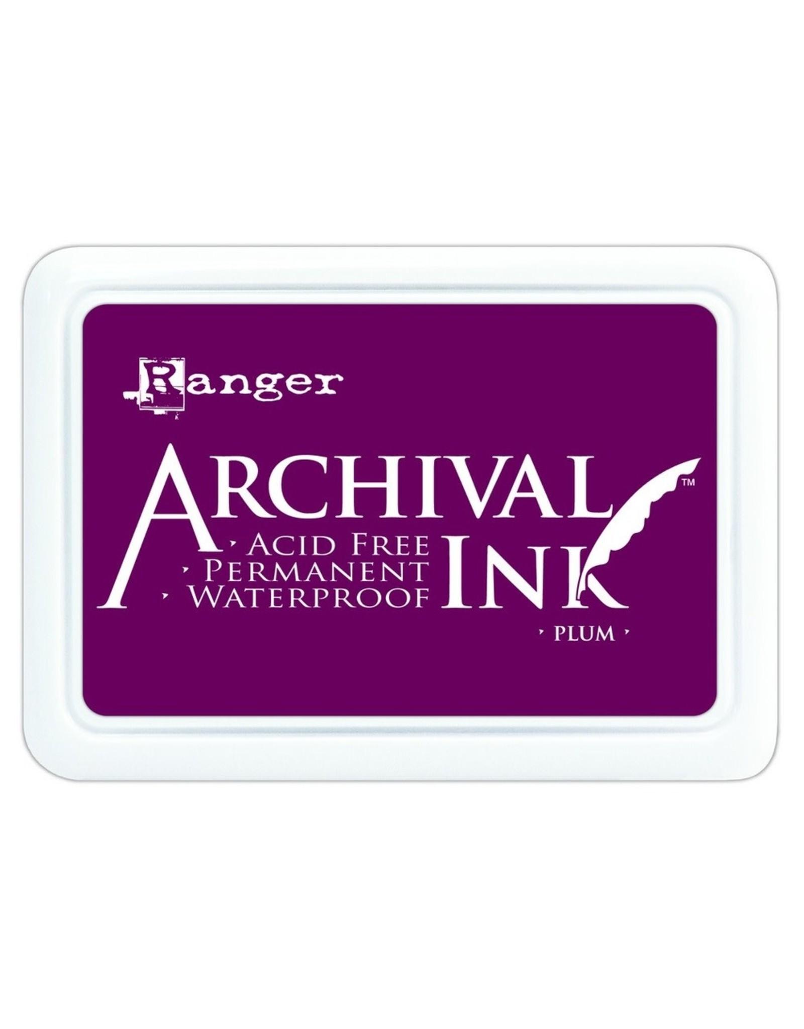 Archival Ink Pad Plum