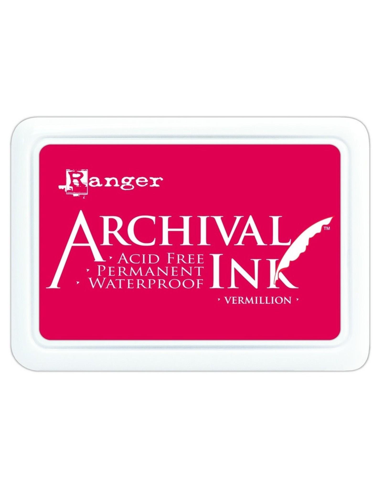 Ranger Archival Ink Pad Vermillion