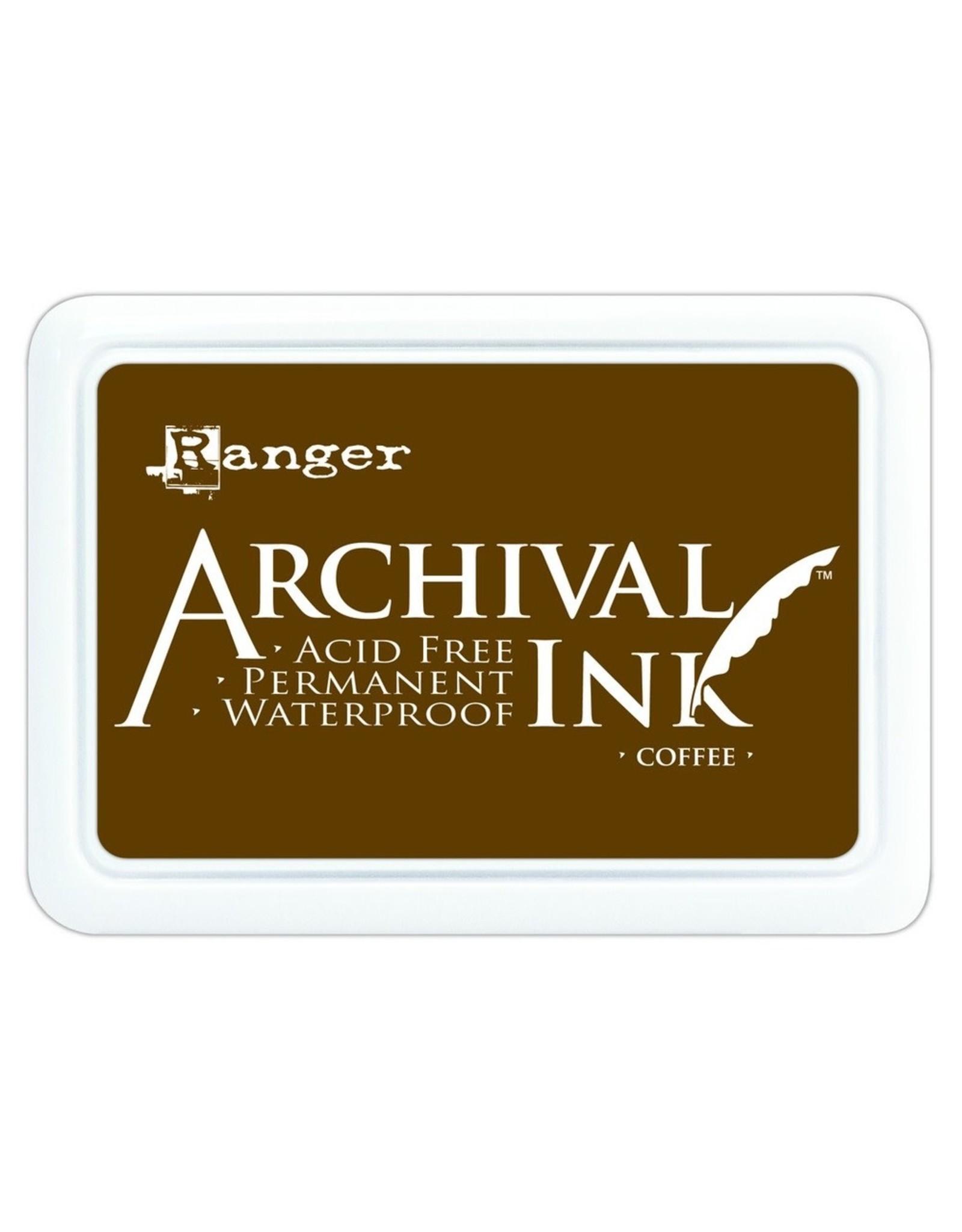 Ranger Archival Ink Pad Coffee