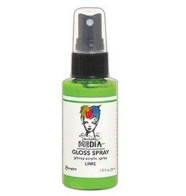 Dylusions Dina Wakley MEdia Gloss Spray, Lime
