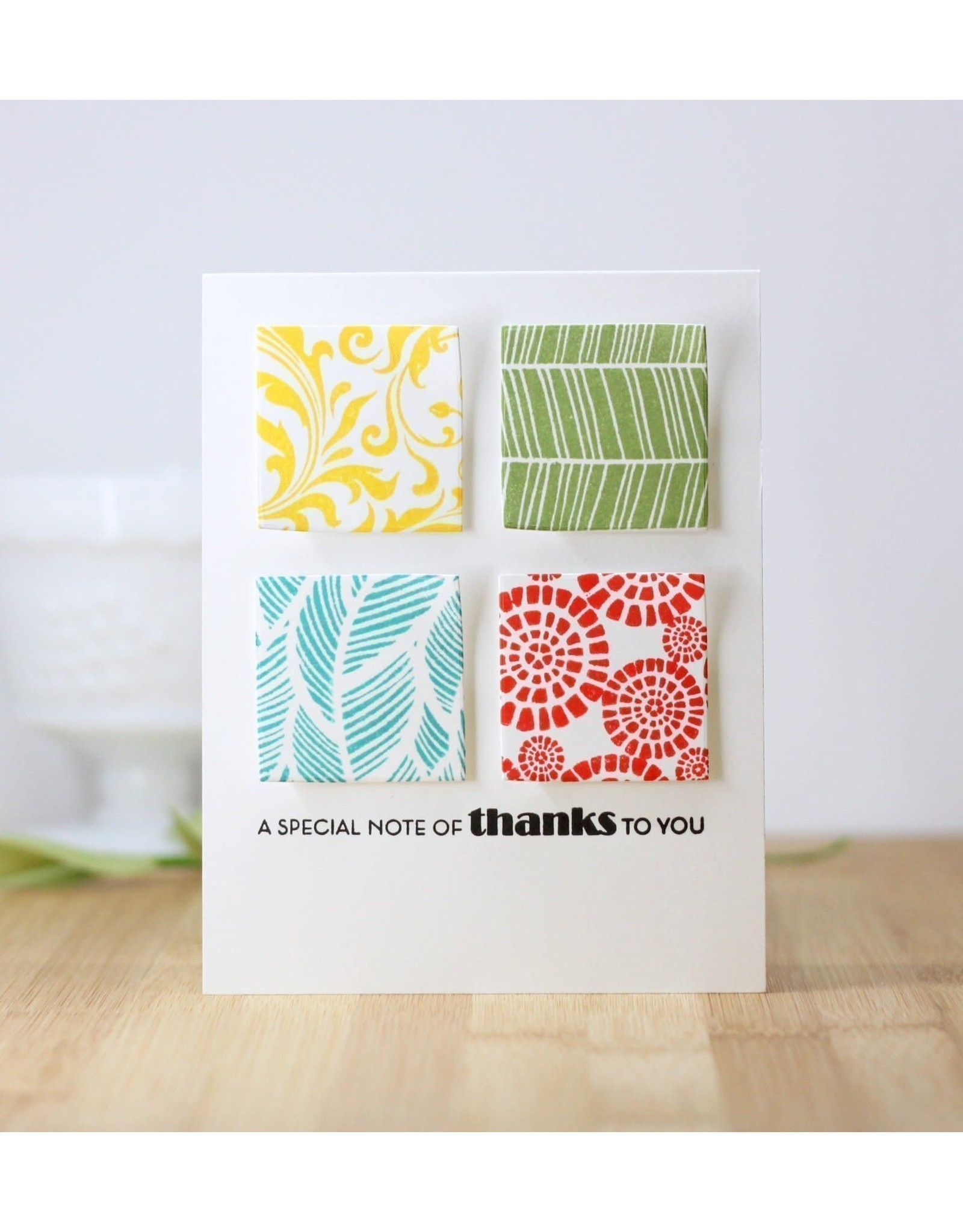 ALTENEW Block Print Stamp Set