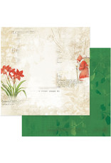 49 AND MARKET 12X12 Patterned Paper, Vintage Artistry Noel - Tradition