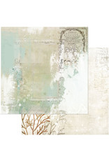 49 AND MARKET 12X12 Patterned Paper, Vintage Artistry Shore - Tidepool