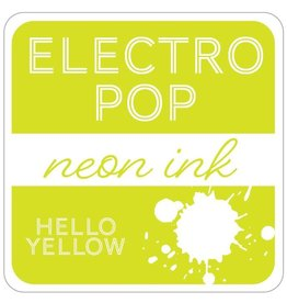 Gina K. Designs ElectroPop Neon Ink Pad, Hello Yellow