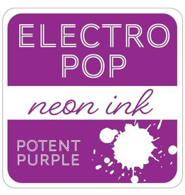 Gina K. Designs ElectroPop Neon Ink Pad, Potent Purple