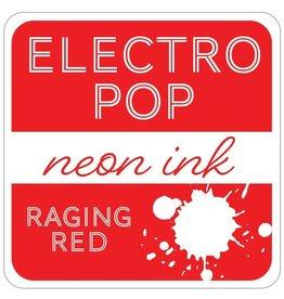 Gina K. Designs ElectroPop Neon Ink Pad, Raging Red