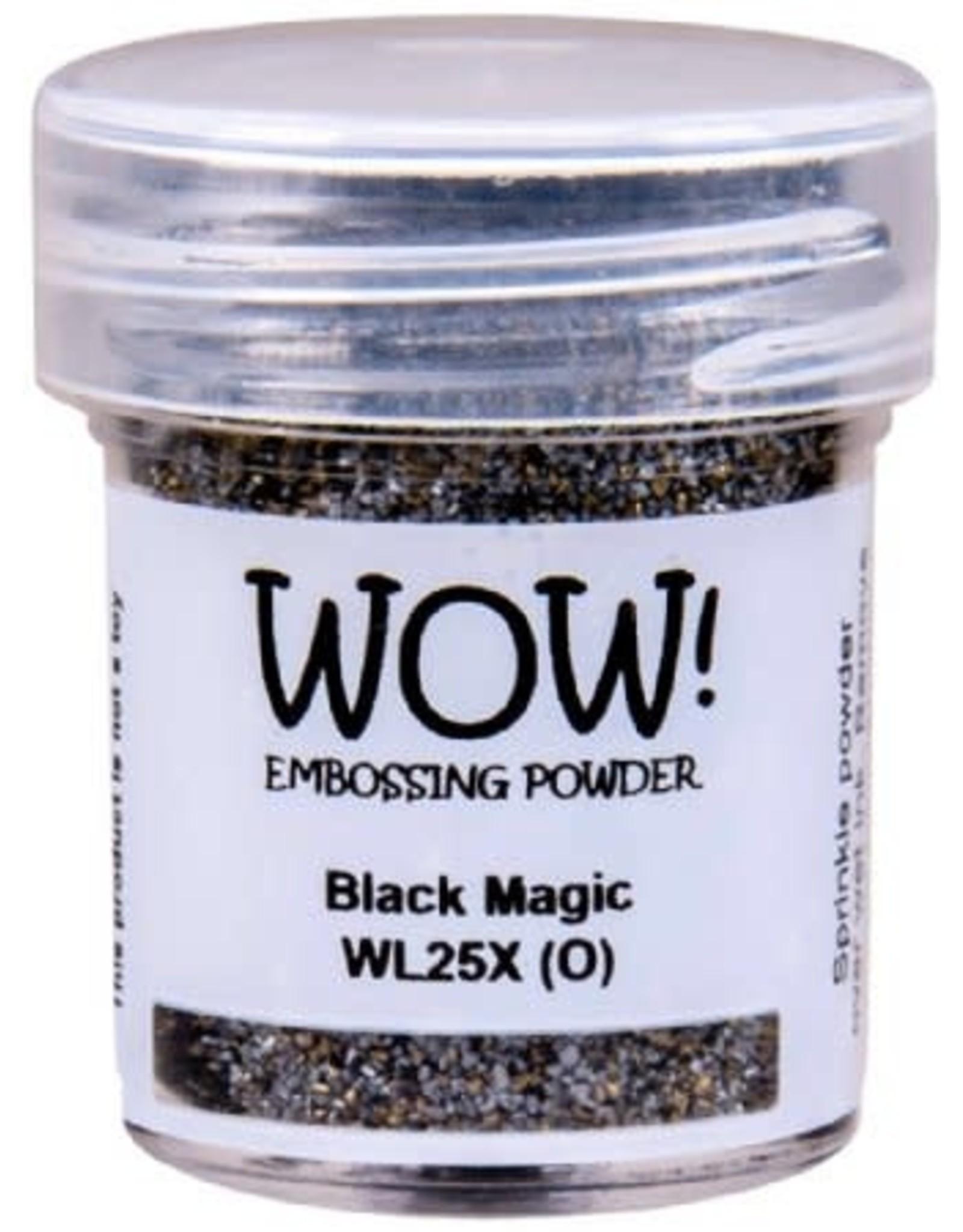 WOW! Black Magic Colour Blend Embossing Powder - WOW