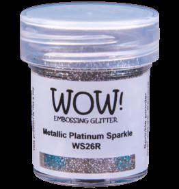 WOW! Metallic Platinum Sparkle Embossing Glitter
