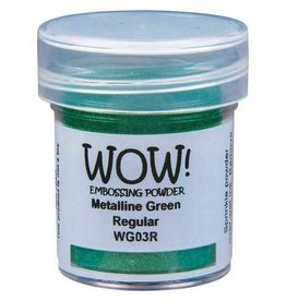 WOW! Metalline Green Embossing Powder