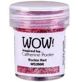 WOW! Rockin Red Embossing Glitter