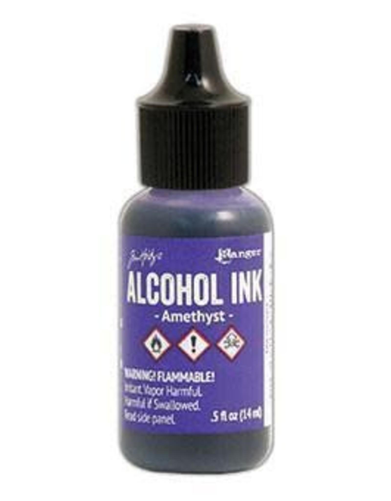 Tim Holtz Alcohol Ink 1/2 oz Amethyst