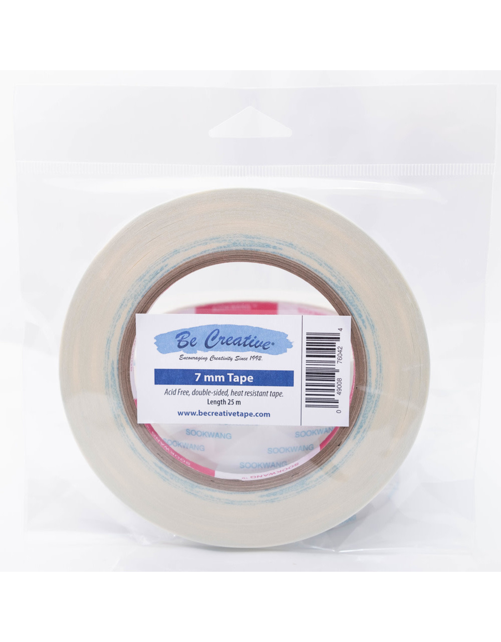 """Be Creative Tape, 7mm (0.28"""") 27yd"""