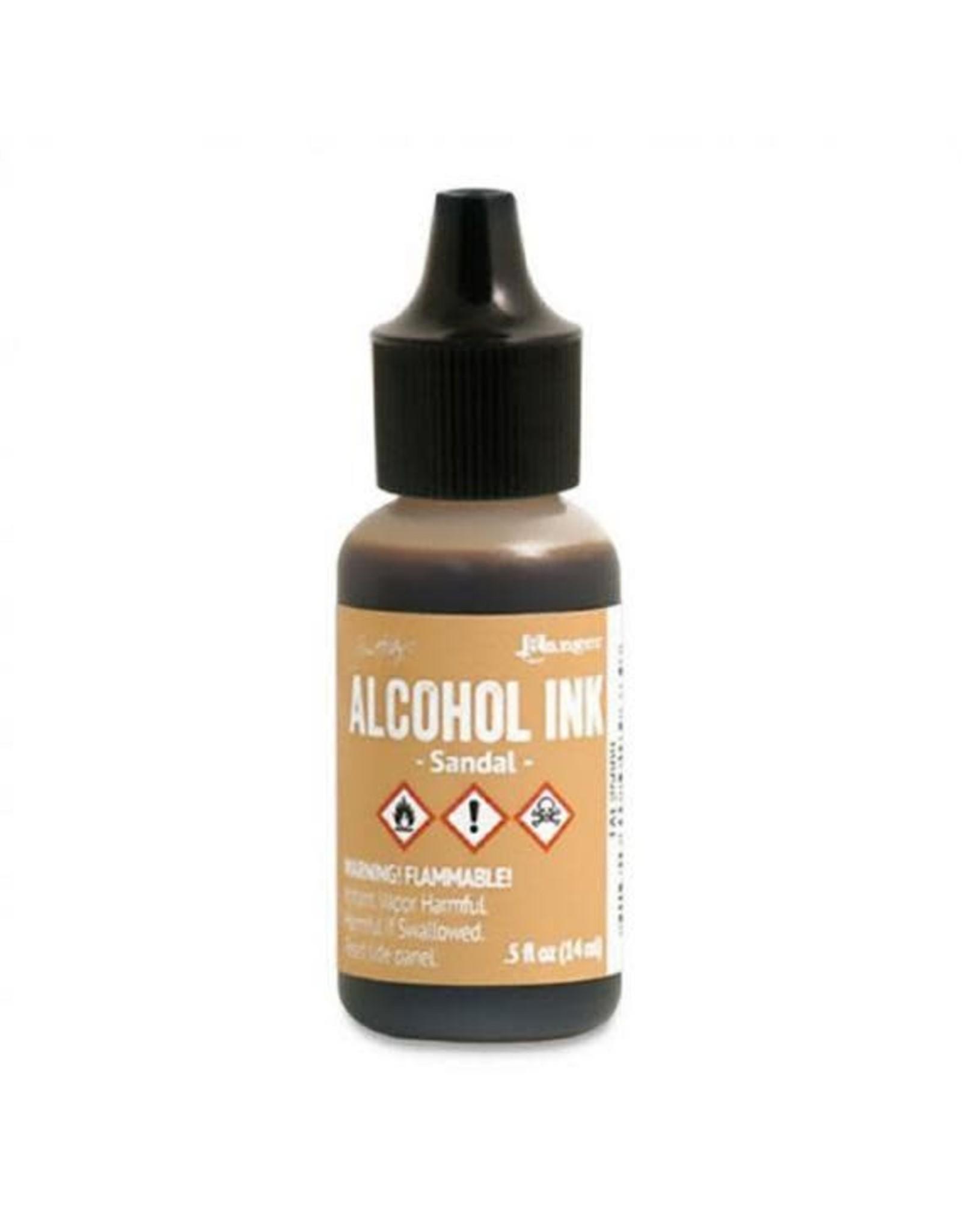 Tim Holtz Alcohol Ink 1/2 oz Sandal