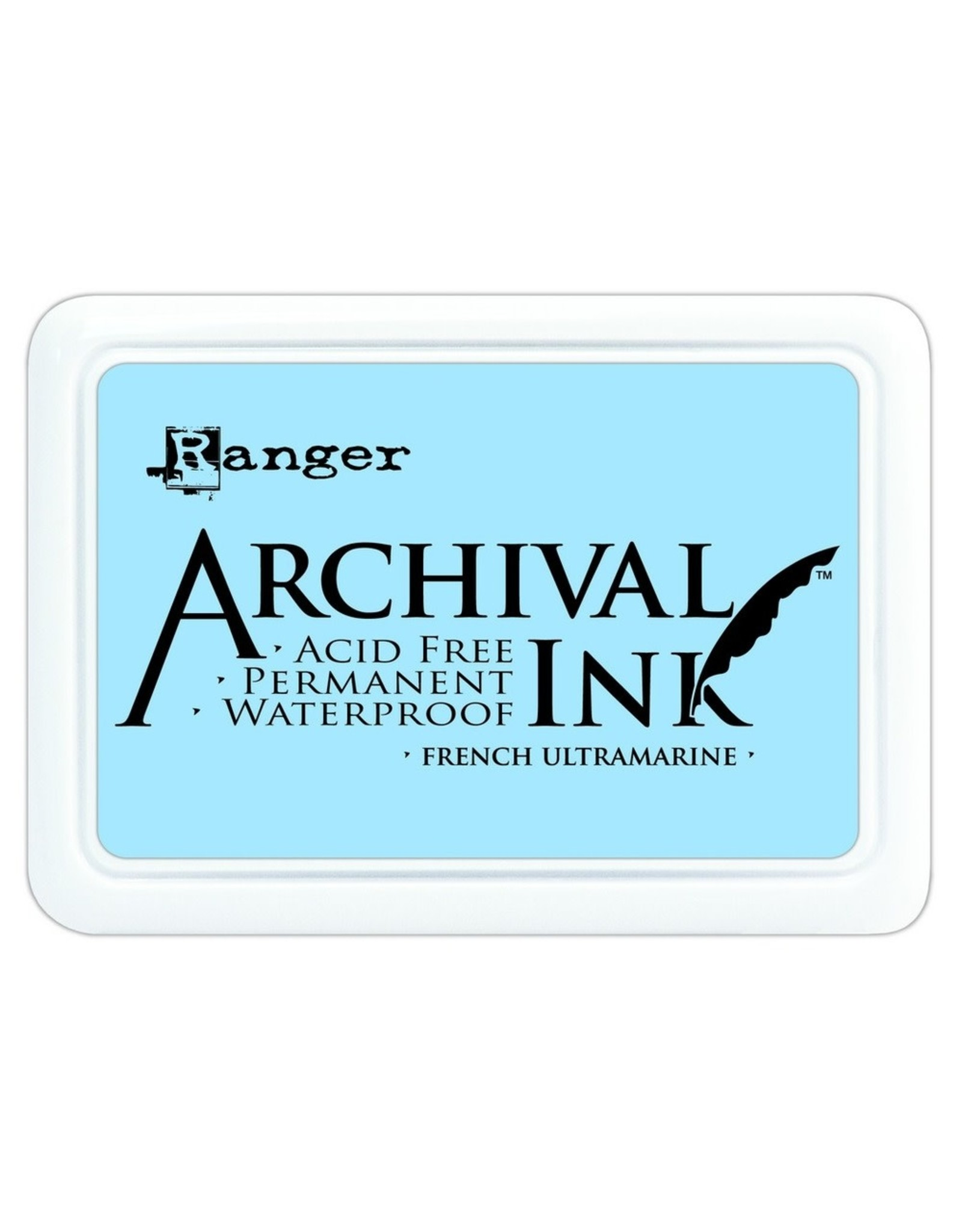 Ranger Archival Ink Pad French Ultramarine