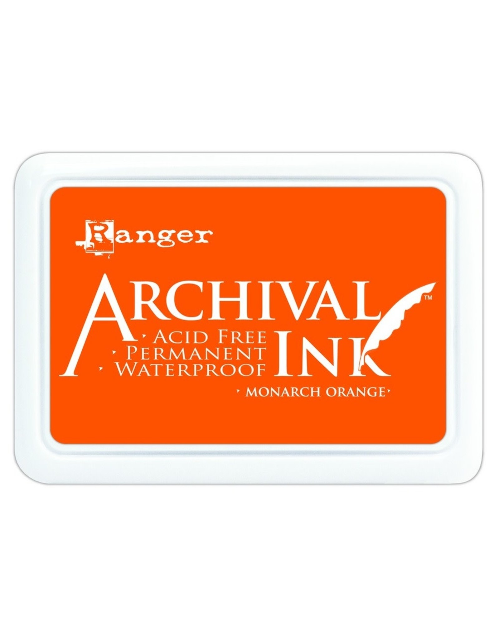 Ranger Archival Ink Pad Monarch Orange