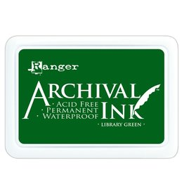Ranger Archival Ink Pad Library Green
