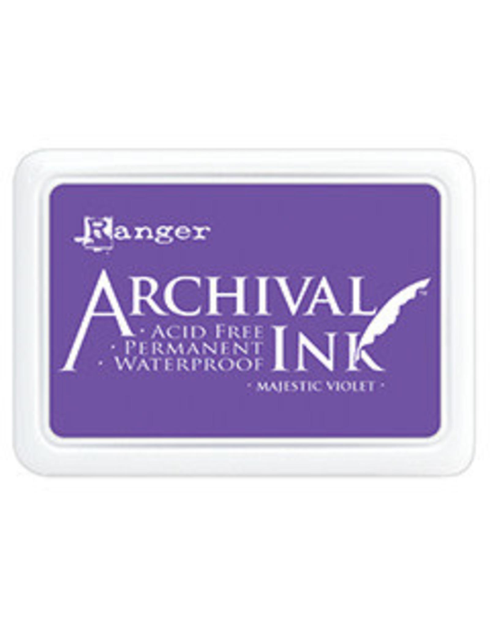 Ranger Archival Ink Pad Majestic Violet