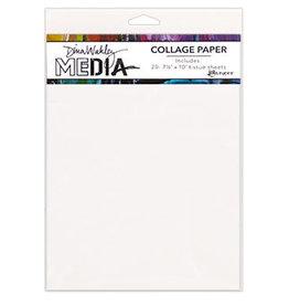 Dina Wakley Media Dina Wakley MEdia Collage Paper, Plain