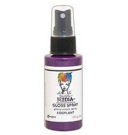 Dina Wakley MEdia Gloss Spray, Eggplant