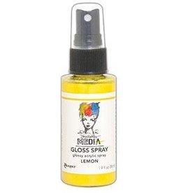 Dina Wakley MEdia Gloss Spray, Lemon