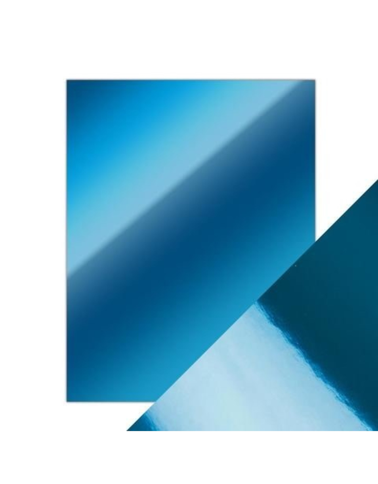 8.5X11 Mirror Cardstock, Gloss - Imperial Blue (5/Pk)