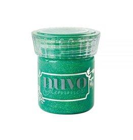 Nuvo Glimmer Paste, Peridot Green