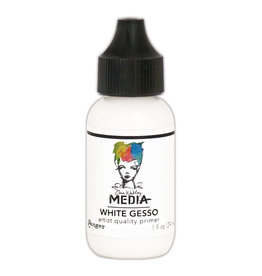 Dina Wakley Media Medium, White Gesso 1oz