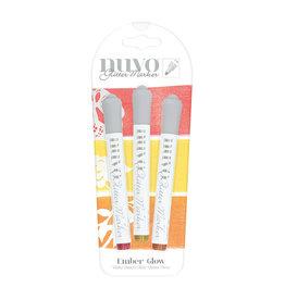 NUVO Nuvo Glitter Marker, Ember Glow