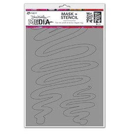 Dina Wakley Media Dina Media Stencils Meandering Masks